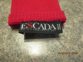 ESCADA Red Gloves - - $88.99