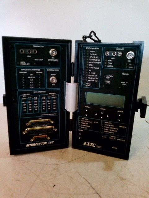 Primary image for TTC Interceptor 147 Communications Analyzer / Tester