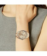 New Fossil Women ES4315 Scarlette Multifunction Rose Gold Stainless Stee... - $118.79