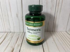 Nature's Bounty Tumeric Capsules, 538mg, 45 Capsules, 08/22 - $14.52