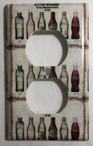 Coke Coca Cola Old bottles Light Switch Power Outlet Wall Cover Plate Home decor image 3
