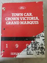 1994 Ford Crown Victoria Grand Marquis Town Car Service Repair Manual OE... - $11.50