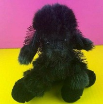 Ganz Webkinz Black Poodle Dog Plush HM191 No Code Stuffed Animal  - $5.93