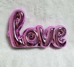 Love Sculpture Figurine Ceramic Paper Weight Valentines Day Gift Decor 4... - $13.98
