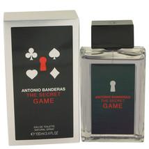 The Secret Game by Antonio Banderas Eau De Toilette  3.4 oz, Men - $22.76