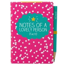 Happy Jackson A7 Mini Notepad with Pencil NOTES OF A LOVELY PERSON - NEW - $1.89