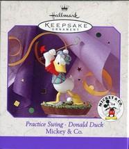 "Hallmark Keepsake Ornament ""Practice Swing - Donald Duck"" 1998 Mickey & ... - $5.93"