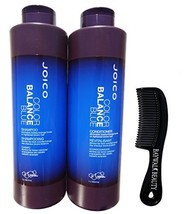 Joico Color Balance Blue Shampoo & Conditioner 33.8 oz With FREE Shower Comb - $37.32