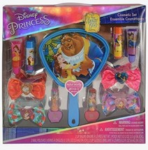 Disney Beauty & The Beast Complete Cosmetic Easter Gift Set with Mirror ... - $11.99