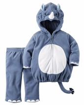 NEW Boys Carter's Halloween Rhino Costume 3-6 or 6-9 Months 2 Piece - $24.99