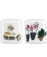 Kate Spade New York To Market Salt & Pepper Shakers 875094 by Lenox New In Box - $23.90