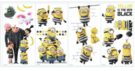 DESPICABLE ME 3 MOVIE WALL DECALS 17 BiG Minion... - $13.09