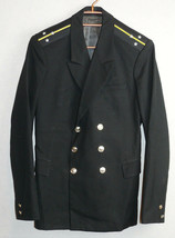 Soviet USSR Navy Officer Uniform Lieutenant Jacket Naval Tunic Marine Ba... - $24.75