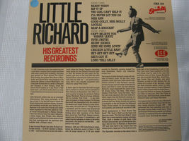 Little Richard His Greatest Recordings Ace CHA 109 Mono LP Record Album UK Press image 3