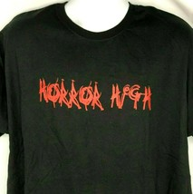 Horror High Frantic Font T-Shirt XL Mens Black Unworn NOS 90s-2000 - $24.04