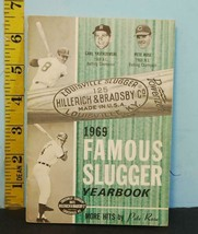 1969 Famous Slugger Yearbook Hillerich Bradsby More hits By Pete Rose - $14.36
