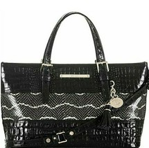 NEW! Authentic! BRAHMIN Mini Asher Satchel-Black - $272.64
