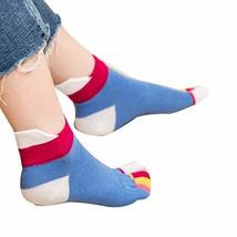 [W] Toe Socks Casual Socks Warm Socks Girl's Lovely Socks Cotton Crew Socks Gift