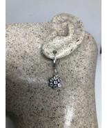 Vintage Piedra Luna Pendientes 925 Plata de Ley - $95.02