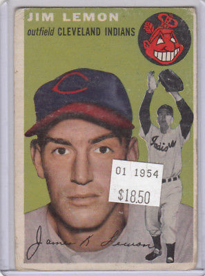 1954 Topps 103 Jim Lemon  Not Graded