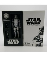 Star Wars Black Series First Order Stormtrooper 2015 Hasbro New in Box D... - $59.28