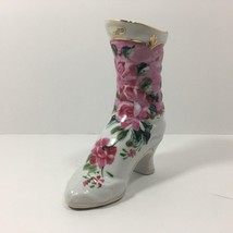Formalities by Baum Bros. Porcelain Boot Figurine, Floral Design (18 Cen... - $14.44