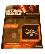 Star Wars X-Wing Starfighter Metal Earth 3D Metal Model Kit - $12.99