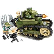 368pcs Military Building Blocks Set Toys Bricks Armored Car Tank Vehicle... - $25.23