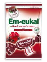 Dr.C.Soldan Em-Eukal throat lozenges: CHOCOLATE CHERRY -90g-FREE SHIPPING - $7.87