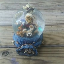 "Rare Boyds Bears Snow Globe ""Have yourself a merry little christmas /778 - $49.49"