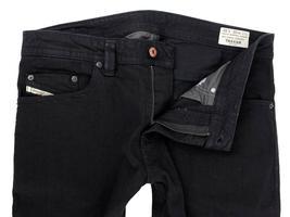 Diesel Men's Designer Stretch Denim Regular Skinny Leg Jeans Thavar 0886Z image 7