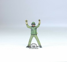 US Navy Green Deck crew 1:72 Pro Built Model #1 - $14.83