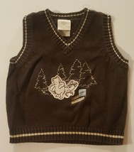 Winnie the Pooh Sweater Vest Disney Brand Vintage 90s Jacket Pull Over S... - $14.84
