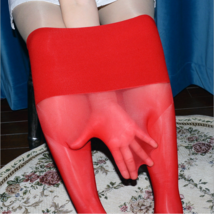 Seamless High Quality Super Shiny Glossy Pantyhose Nylon Stocking Sheer Tights - $11.02