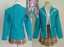 2020Rosario and Vampire Capu 2 Akashiya Moka School Uniform Cosplay Cost... - $60.70