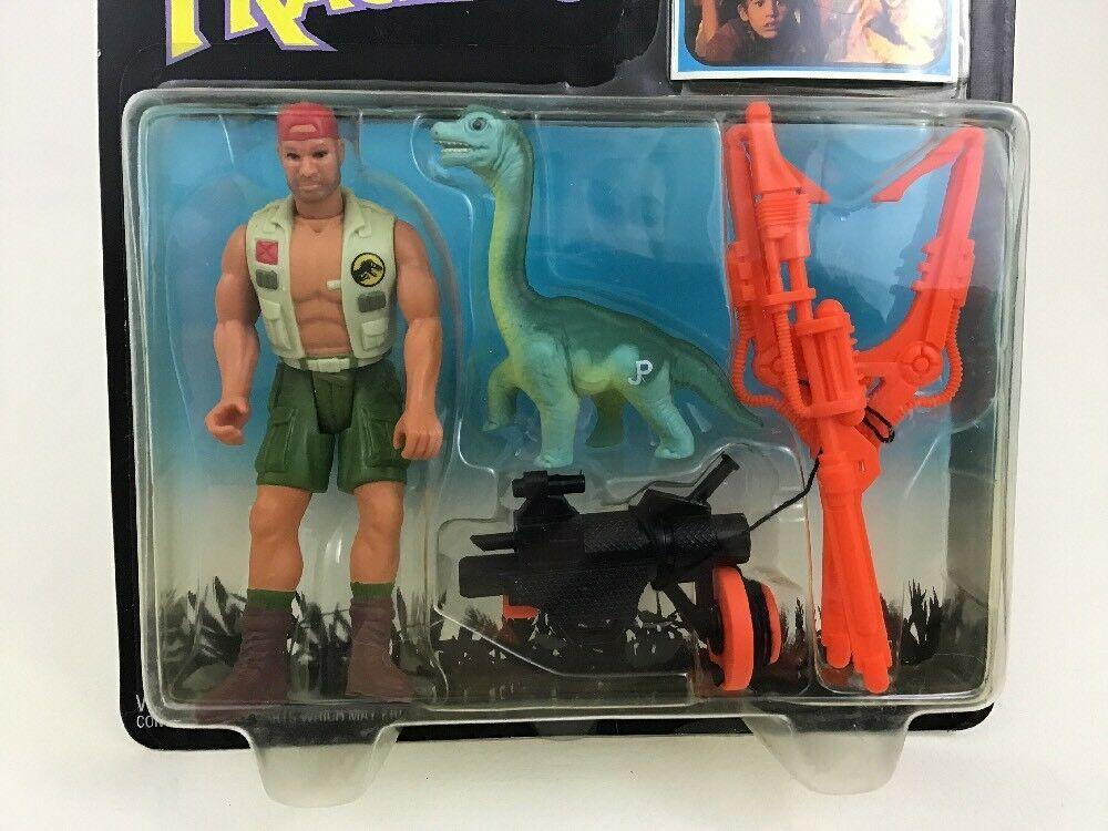 "Harpoon Harrison Jurassic Park Dino Tracker 4"" Figure Kenner Original 90s 1993"