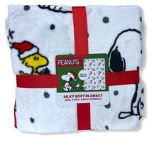 Berkshire Peanuts Snoopy Christmas Silky Soft Blanket 60'x90' - $59.99
