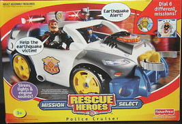 Rescue Heroes Mission Select Police Cruiser NEW  - $186.07
