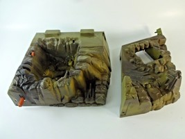 VTG Fright Zone He-Man Masters Of The Universe Incomplete Floor + Lever ... - $24.38