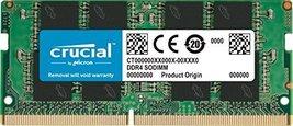 Crucial Ram 32GB DDR4 2666 M Hz CL19 Laptop Memory CT32G4SFD8266 - $153.44
