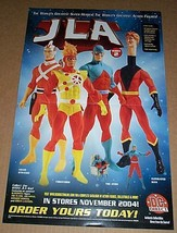 17 x 11 JLA DC Direct series 2 action figures poster:Firestorm/Atom/Adam... - $29.69