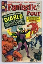 Fantastic Four #30 ORIGINAL Vintage 1964 Marvel Comics Intro Diablo - $116.72