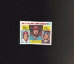 1984 Topps Baseball #709 NL Active Career Save Leaders Blank Back - $40.00