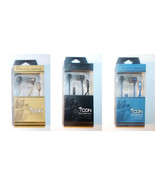 Mental Beats Icon Fidelity Earbuds with MIC Blue, Black or Gold NEW - $9.74