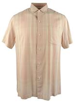 Tommy Bahama Plaidopuerto Silk Camp Short Sleeve Shirt , Size L, MSRP $128 - $64.34