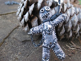 Haunted Spell Cast Voodoo Doll Pendant Moonstar7spirits - $177.77