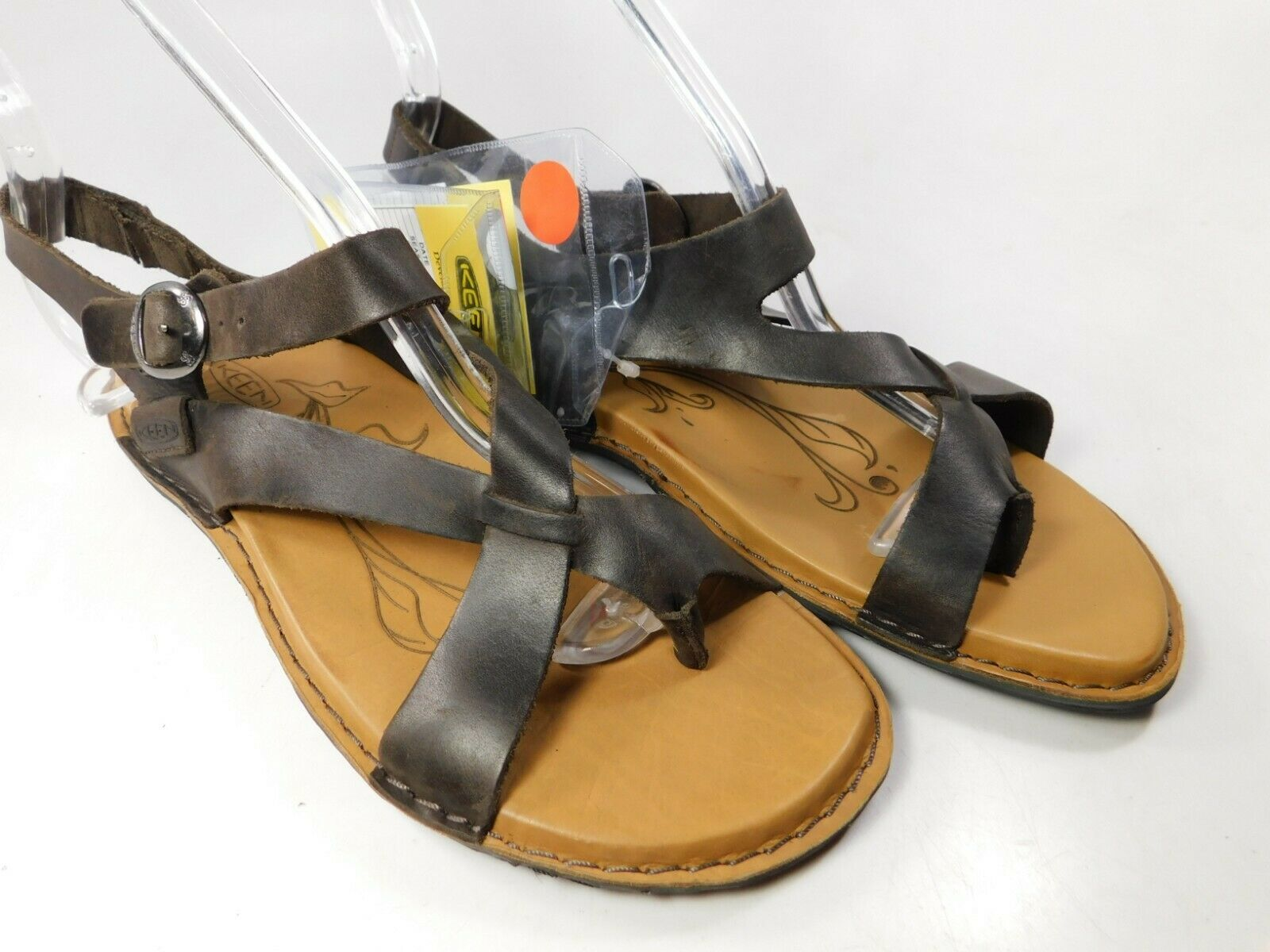 Keen Sofia II Sz US 7 M (B) Eu 37.5 Femmes Cuir Sandales Décontractées