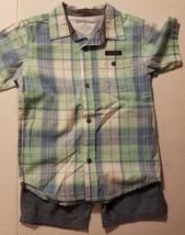 Calvin Klien Jean Infant & Toddler Short & Button Up Top Size 3T 4T   NWT  - $29.99