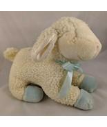 "Russ Lullaby Lamb Plush Musical 8"" Tall Sheep Jesus Loves Me Stuffed Ani... - $7.15"