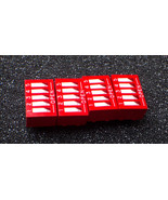 Red 2.54mm Pitch 5-Bit 5 Positions DIP Switch -... - $0.90